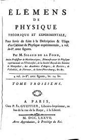 ELEMENS DE PHYSIQUE