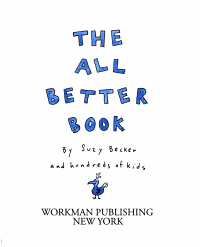 The All Better Book Book