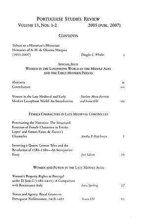 Portuguese Studies Review PDF