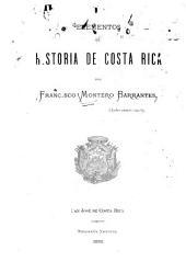 Elementos de historia de Costa Rica: Volumen 1