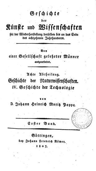 Geschichte der Technologie PDF