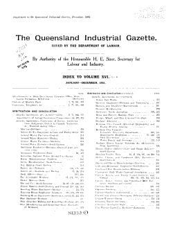 The Queensland Industrial Gazette PDF