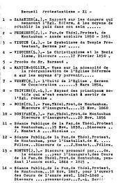 Rapport sur les dangers qui menacent l'Eglise réformée et les moyens de rétablir la paix dans son sein: lu à la conférence de Rouen, le 8 novembre 1876