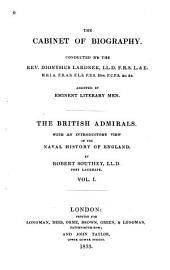 The British admirals: With an introductory view of the naval history of England, Volume 1