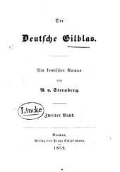 Der Deutsche Gilblas: ein komisher Roman, Band 2