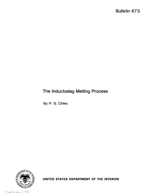 The Inductoslag Melting Process