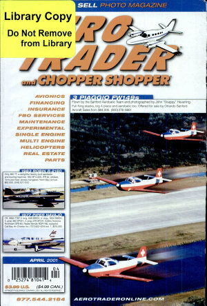 AERO TRADER   CHOPPER SHOPPER  APRIL 2001