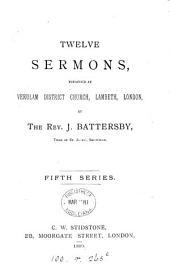 Twelve sermons: Volume 5