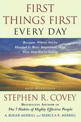First Things First Every Day PDF