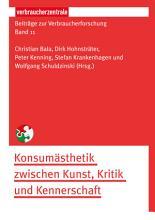 Beitr  ge zur Verbraucherforschung Band 11 PDF