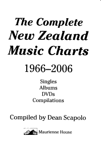 The Complete New Zealand Music Charts  1966 2006 PDF