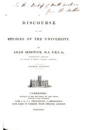 A Discourse on the Studies of the University