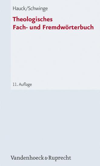 Theologisches Fach  und Fremdw  rterbuch PDF