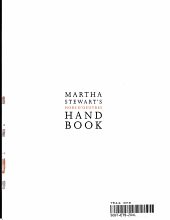 Martha Stewart's Hors D'oeuvres Handbook