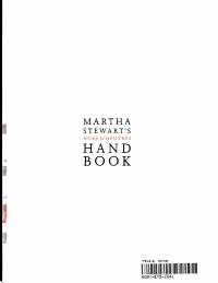 Martha Stewart s Hors D oeuvres Handbook Book