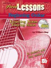 First Lessons Beginning Guitar