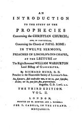 Twelve Sermons Introductory to the Study of the Prophecies