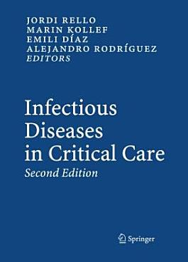 Infectious Diseases in Critical Care PDF