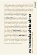 Das kulinarische Erbe der Schweiz  Band 2 PDF
