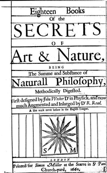 Download Eighteen Books of the Secrets of Art   Nature Book