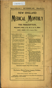 New England Medical Monthly: Volume 18, Issue 9