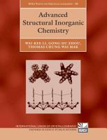 Advanced Structural Inorganic Chemistry PDF