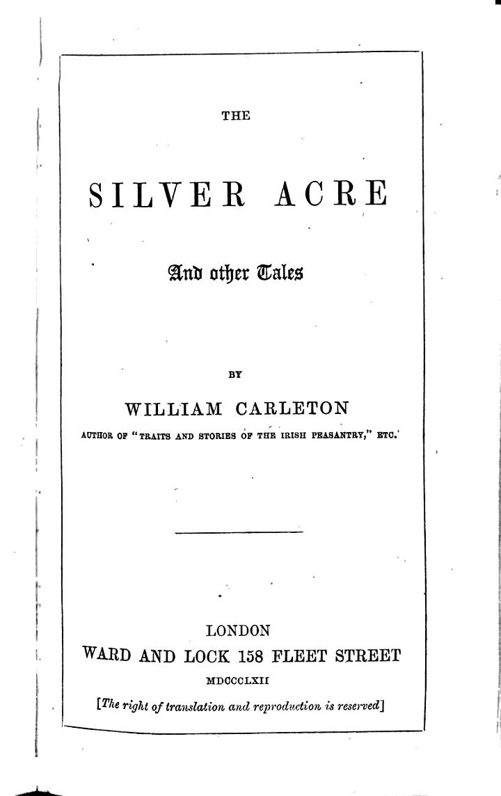 The Silver Acre, and Other Tales