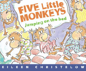 Five Little Monkeys Jumping On Bed Book