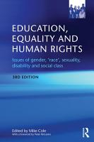 Education  Equality and Human Rights PDF