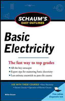 Schaums Easy Outline of Basic Electricity Revised PDF