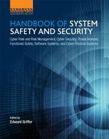 Handbook of System Safety and Security PDF