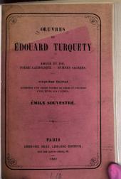 Oeuvres de Edouard Turquety