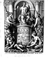 Diæteticon: sive De re cibaria libri iv