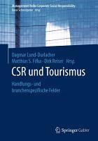 CSR und Tourismus PDF