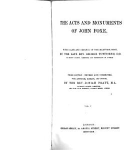 The Acts and Monuments of John Foxe PDF