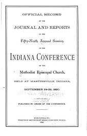 Official Record of the Journal and Reports of the ... Annual Session of the Indiana Conference of the Methodist Episcopal Church