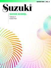 Suzuki Guitar School - Volume 8: Guitar Part