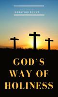 God s Way of Holiness PDF