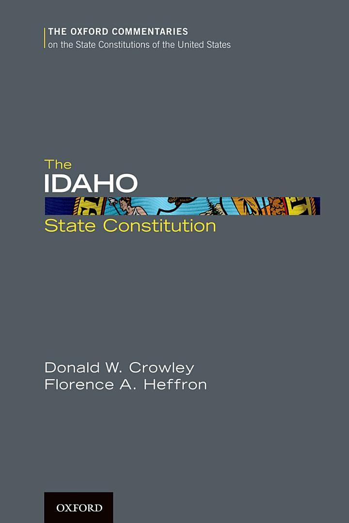 The Idaho State Constitution