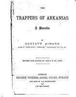 The Trappers of Arkansas PDF