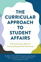 The Curricular Approach to Student Affairs PDF