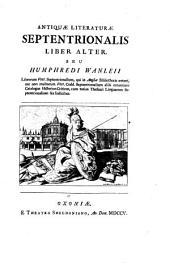 Linguarum veterum septentrionalium thesaurus grammatico-criticus et archaeologicas. -Oxoniae, Theatrum Sheldonianum 1705