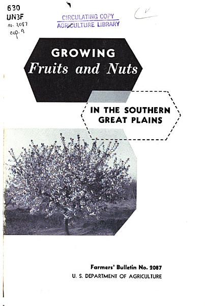 Download Growing Fruit and Nuts in the Southern Great Plains Book