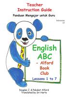 Panduan Mengajar until Guru English ABC   Alford Book Club INDONESIAN PDF