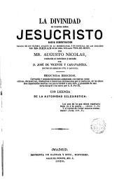 La divinidad de nuestro senor jesucristo