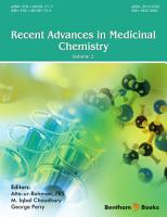 Recent Advances in Medicinal Chemistry PDF