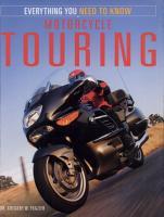 Motorcycle Touring PDF