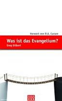 Was ist das Evangelium  PDF