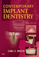 Contemporary Implant Dentistry   E Book PDF