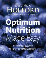 Optimum Nutrition Made Easy PDF